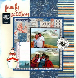 Family Vacation Bon Voyage
