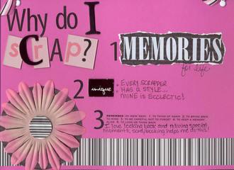 Fast scrap 12:  Reasons