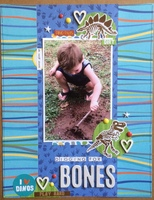 digging for bones