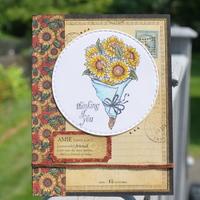 Sunflower card