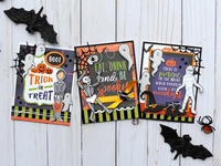 Hocus Pocus Trio of Cards
