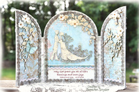 Fairy-Tale Wedding Card