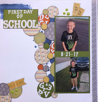 First Day Of School (Aug 2018 Technique and Alpha Challenges)