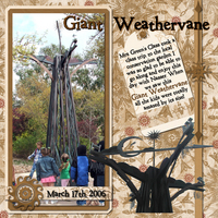 Giant Weathervane