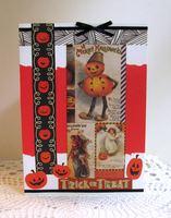 Halloween Card Pumpkins