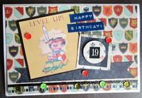Level Up (birthday card)