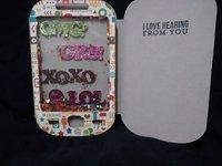 Shaker phone card