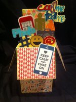 Giant pop up card