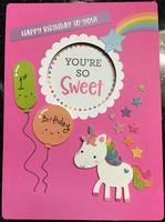JJ's 1st Birthday Card