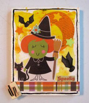 Halloween Plaque
