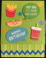 Aiden's 6th Birthday Card