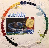 waterbaby (Sept 2018 Guest Designer Challenge #5)