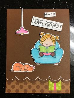 Maddie's 10th Birthday Card