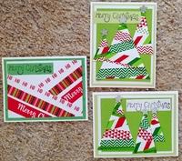 Washi Christmas cards 2018