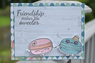 Friendship makes life Sweeter