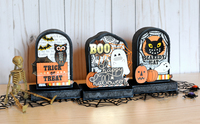 Halloween Headstone Treat Boxes