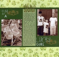 I'm A Lucky Girl