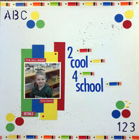 2 Cool 4 School (Sept 2018 Color and Shape Challenge)