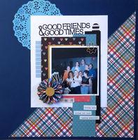 Good Friends & Good Times (Oct 2018 Title Challenge)