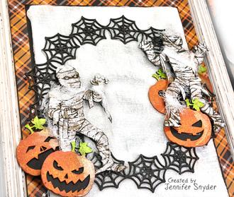 Halloween Mummy Canvas