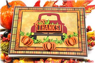 Truck full of thanks