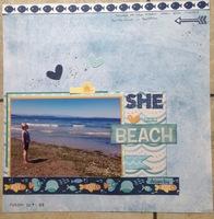 She Loves the Beach