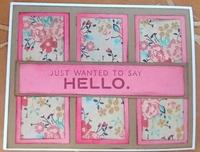 2018 Hello card 1