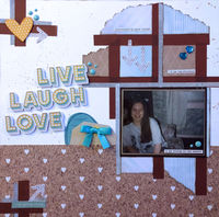Live, Laugh, Love (Oct 2018 Rewind Challenge)