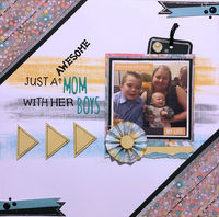 Just A Awesome Mom (Oct 2018 Pinterest Challenge)