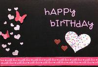 happy birthday (Oct 2018 Pink Challenge)