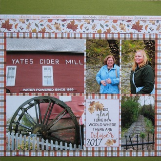Yates Cider Mill - Fall 2017