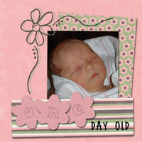 one day old