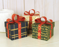 Carta Bella Stocking Stuffer Gift Boxes