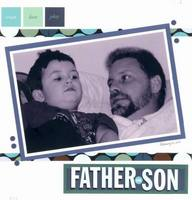 Father & Son - Scrapworks Reveal