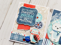 Echo Park Celebrate Winter Card Trio