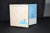 2 fold Macaron card