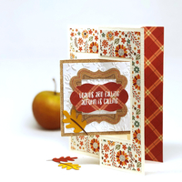 """Celebrate Autumn"" Flip Flap Card"