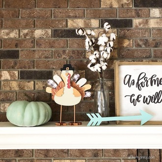 Turkey Wood Decor