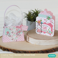 Sweet Baby Girl card/gift set