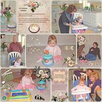 First Birthday highlights