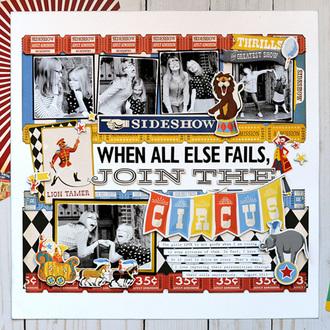 Carta Bella Paper Circus - Join the Circus