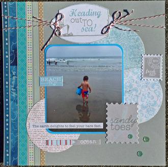 Beach Boy Heading to the Sea