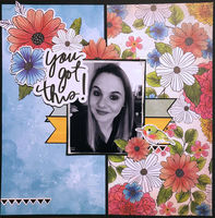 You Got This! (Nov 2018 Donna's Scraplift from the Gallery Challenge)