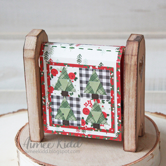 Christmas Quilt and Stand