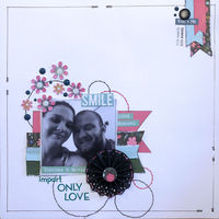 impart Only Love (Nov 2018 Prompt and Scraplift the Guest Designer Challenges)