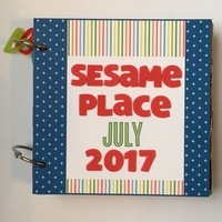 Sesame Place Mini Album Cover