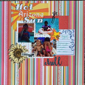 Hot Arizona Sun