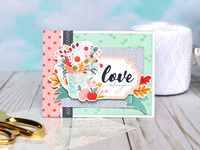 "Carta Bella Our House ""Love Always"" Card"
