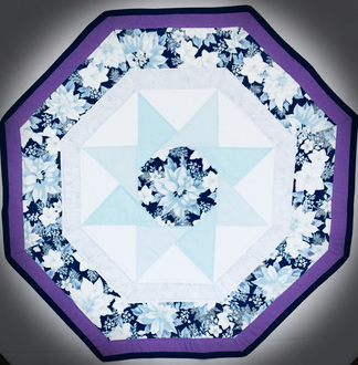 Poinsettias on Ice