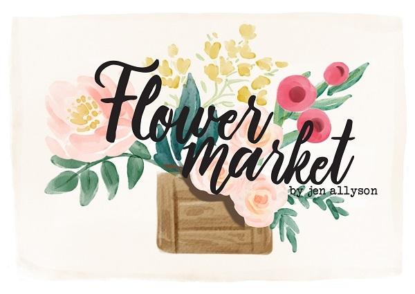 Flower Market Jen Allyson Carta Bella Echo Park